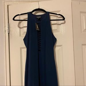 Navy blue dress NEW
